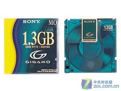 正品 索尼/SONY  1.3GB  3.5吋 MO磁光盘(EDM-G13C)  盘片