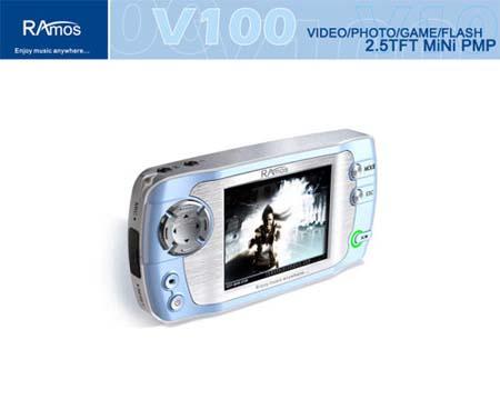 标称支持RM\RMVB格式 蓝魔V100真机秀