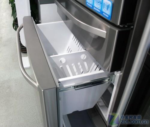 卡萨帝bcd-586wsg冰箱冷冻室特写