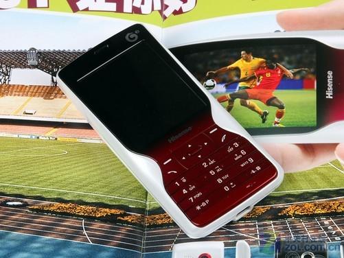 千元级韩范儿td机 海信n51电视手机评测