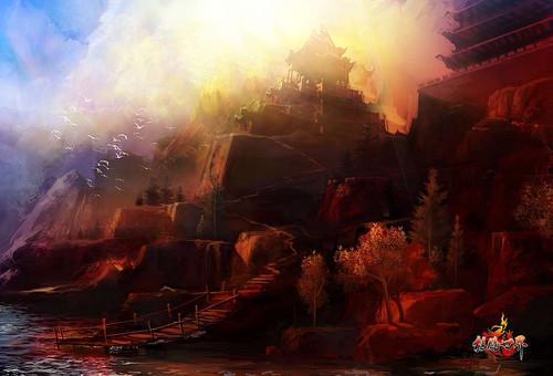 百游《龙腾世界》精彩游戏壁纸放送