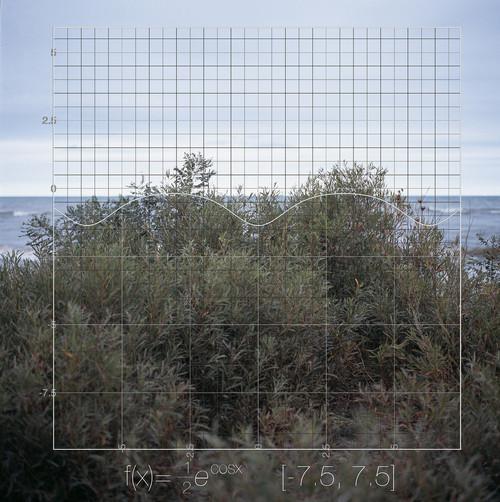 用枯燥数学诠释摄影的年轻女子