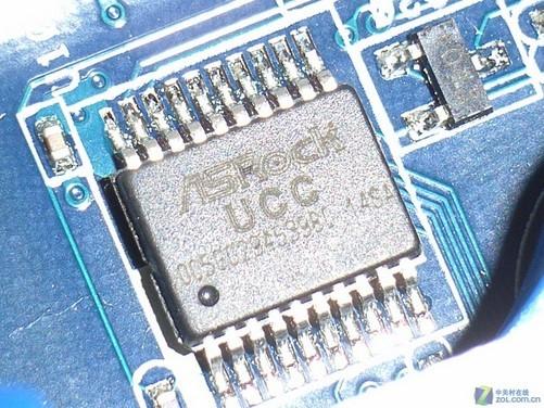 intel集成芯片电路图