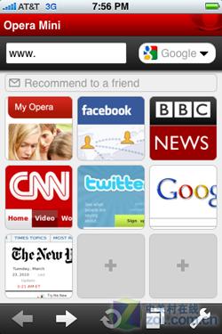 iPhone版Opera Mini正式提交苹果