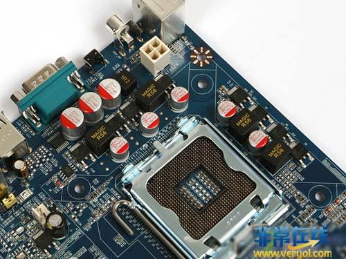 【高清图】 入门装机首选!捷波xblue-p43仅399元图2