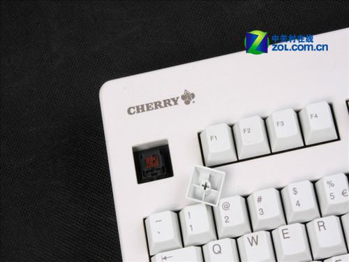 给机械键盘 开轴 Cherry G80 3000LXCEU 0 白色茶轴3000