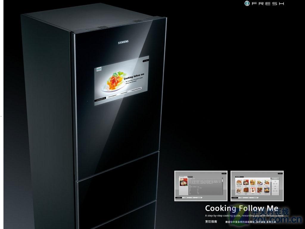 西门子智能家电,将未来厨房带给你