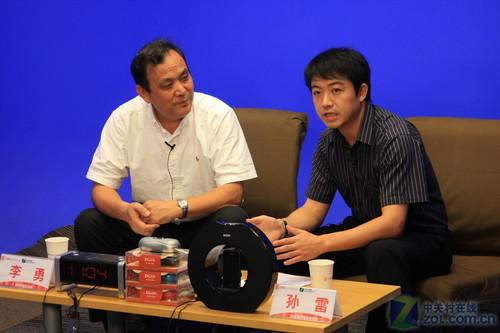 DOSS集团总裁李勇做客ZOL风云问答