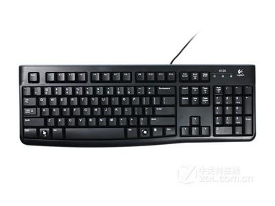 罗技 K120 有线键盘 USB电脑台式机笔记本家用办公 游戏键盘 防水