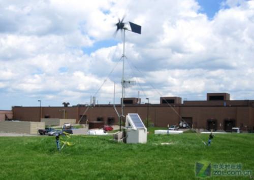 太阳能 风能 无需电源的户外无线中继器