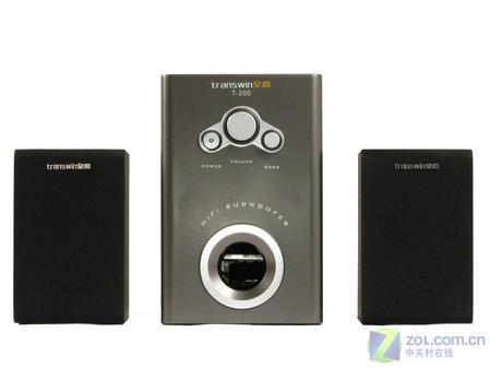 多媒体音箱新选择 全微2.1 T200评测
