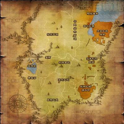 40-49级的圣地神魔大陆锡月林地介绍