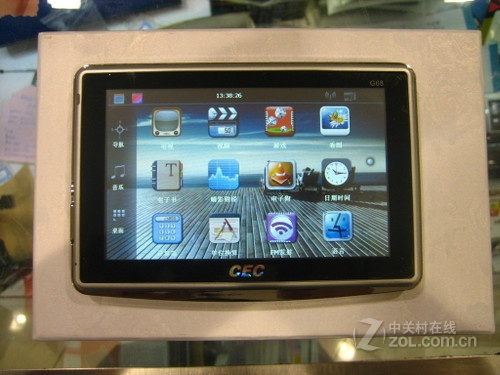 双图高清屏 中国电子G68电视导航上柜