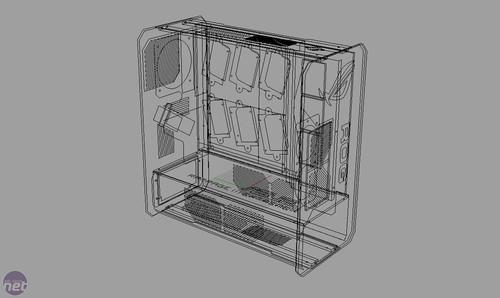 机箱设计图纸