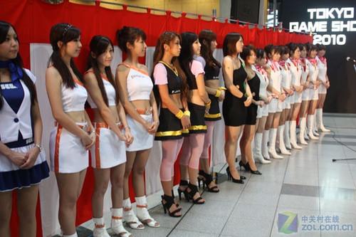 日本人好大胆 没有美女竟也敢办游戏展 中关村在线