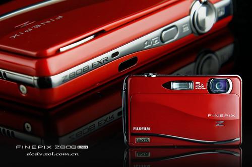 响应触摸创意精灵 富士Z808红色魅惑图赏