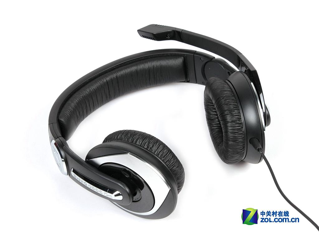 人性化设计到位 森海7.1耳机外观评测