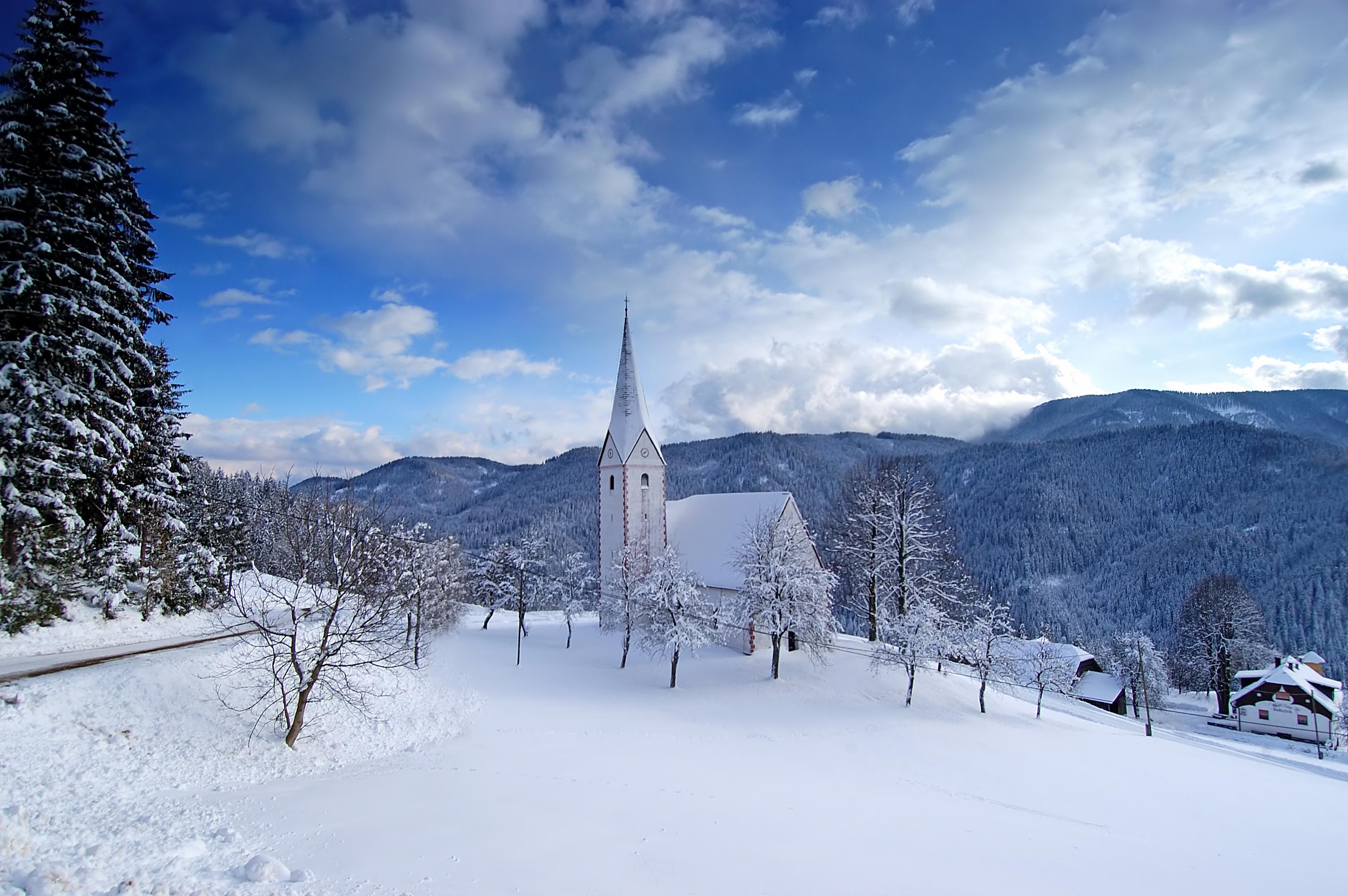 冰雪世界 冬日里的风景高清组图欣赏-第5页-高清频道