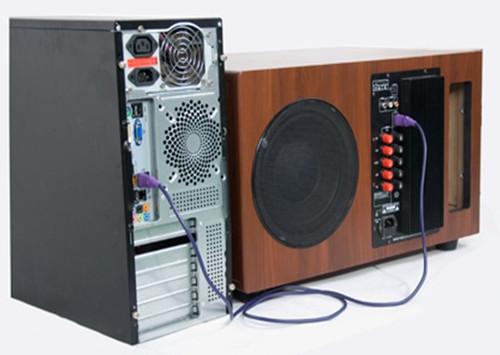 星工场音响usb连接电脑与功放方法