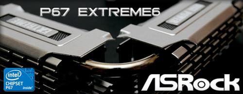 奢侈金色电容 华擎P67 Extreme6美图赏