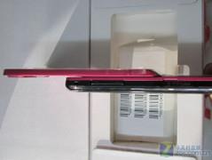 红色时尚滑盖机 三星S5580今低价上市