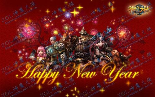 神魔大陸壁紙神魔大陸圖片迎新年 loli的2011 原創