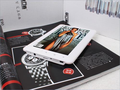 七寸高清+重力感应 时尚实用之首选神行者E90