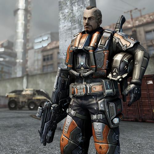 游戏 绝地反击/简单的操作模式,恐怖的杀伤威力,杀敌利器GV6/M5散弹枪的...