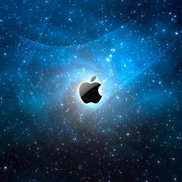 ipad2壁纸:苹果logo创意酷图(14p)
