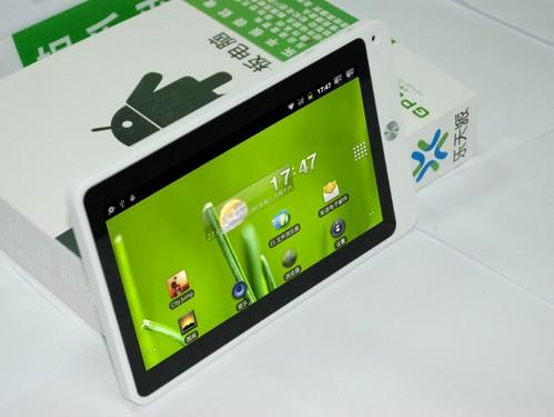 A8内核+Android2.3 乐天派GPad702图赏