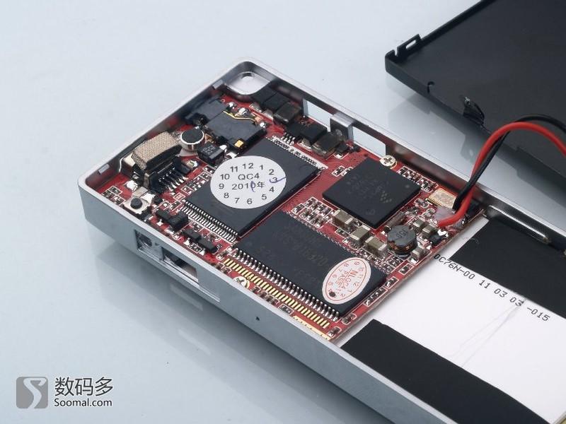 【高清图】酷比魔方c60便携式数字播放器拆解图集