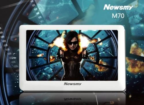 在线影音,大屏智能 纽曼M70五一震撼上市
