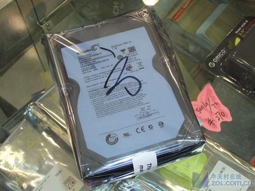 高速SATA3.0 希捷1TB硬盘特价390元
