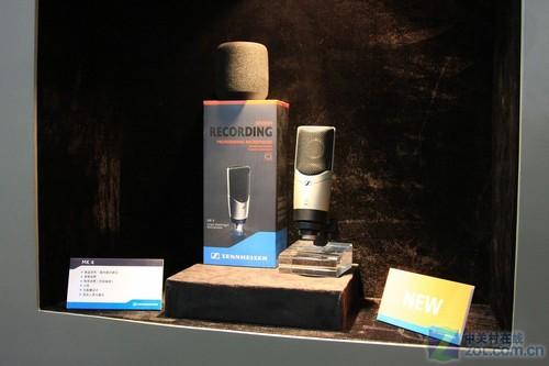 PALM2011:森海天价顶级话筒亮相展会