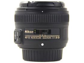 尼康AF-S 50mm f/1.8G侧面