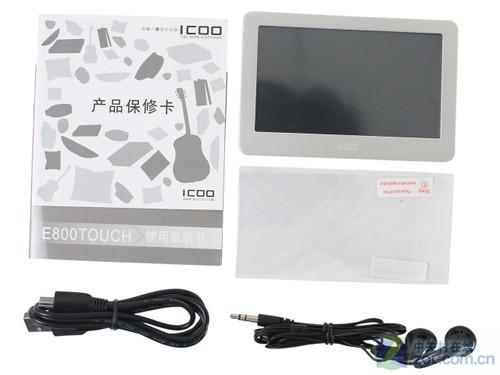 全高清输出丰富游戏 ICOO E800 TOUCH评测