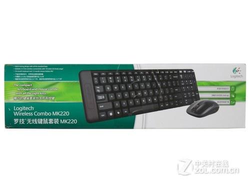 家用键鼠新选择 罗技MK220套装评测
