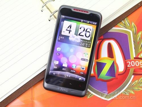 HTC 纵横 黑色 正面图