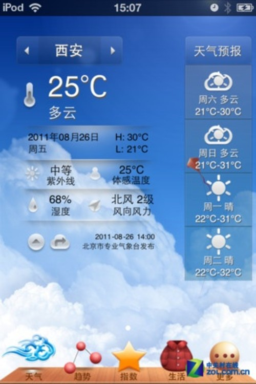 一周天气预报15天柯城+