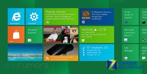 微软:将显著提升Win8移动设备电池寿命