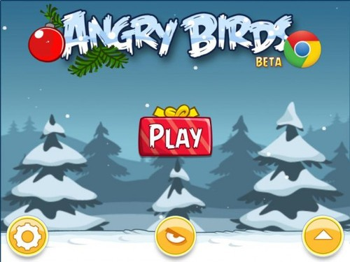 Angry Birds for Chrome带来圣诞关卡
