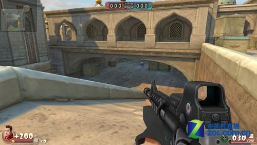 FPS网游《大冲锋》开放性测试新地图前瞻
