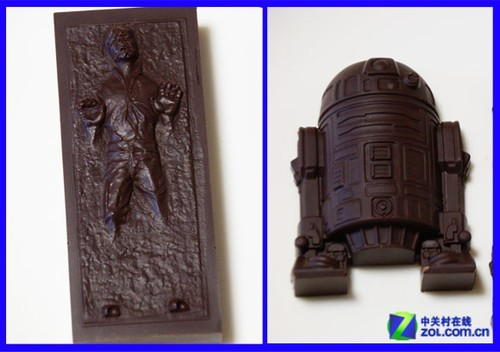 情人节临近 轻松制作《星球大战》巧克力