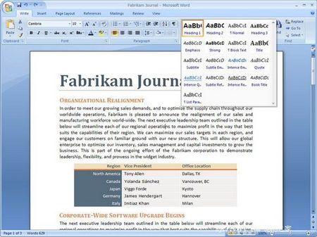 Office 2007界面调整 减少空间占用