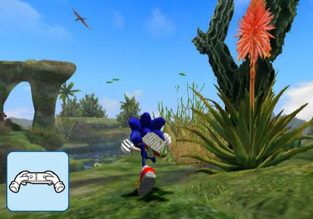 Wii 索尼克与神秘指环 最新游戏画面