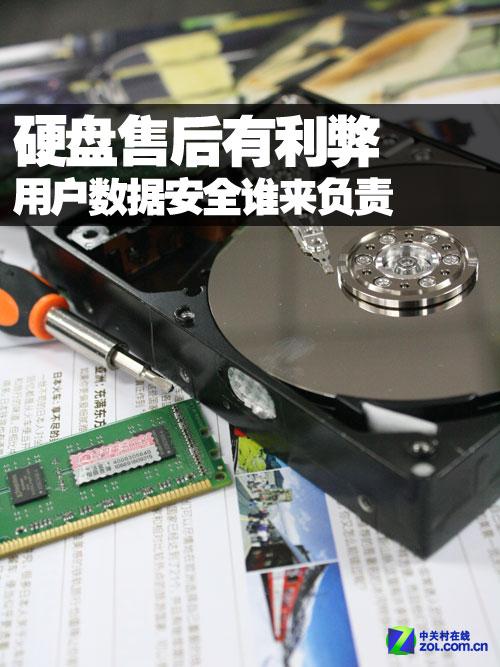 硬盘售后有利弊 数据安全谁来负责