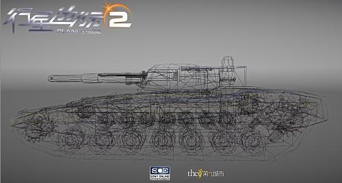 《行星边际2》超精细设计载具带来震撼视觉效果