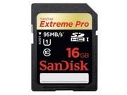 闪迪 至尊超极速SDHC UHS-I存储卡(16GB)