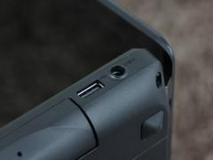 联想 Y480黑色 接口图