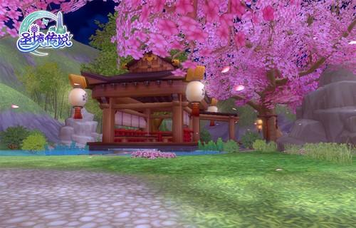 """> 正文      """"星座游乐场""""坐落在神秘的绯樱岛,绯樱岛樱花覆盖率高达"""